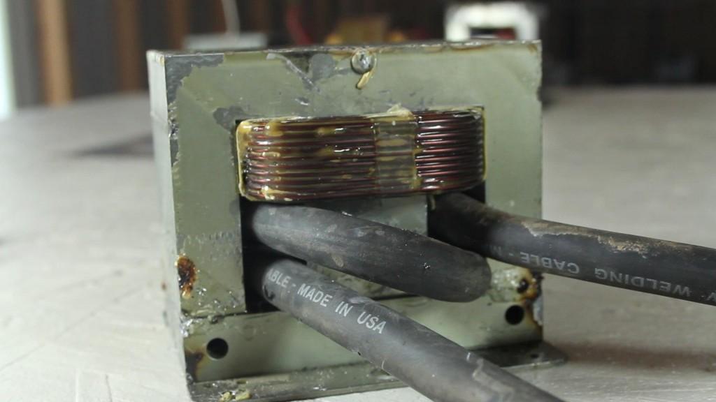 Трансформатор контактной сварки своими руками