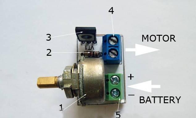 Схема регулятора оборотов электродвигателя 12в своими руками фото 483