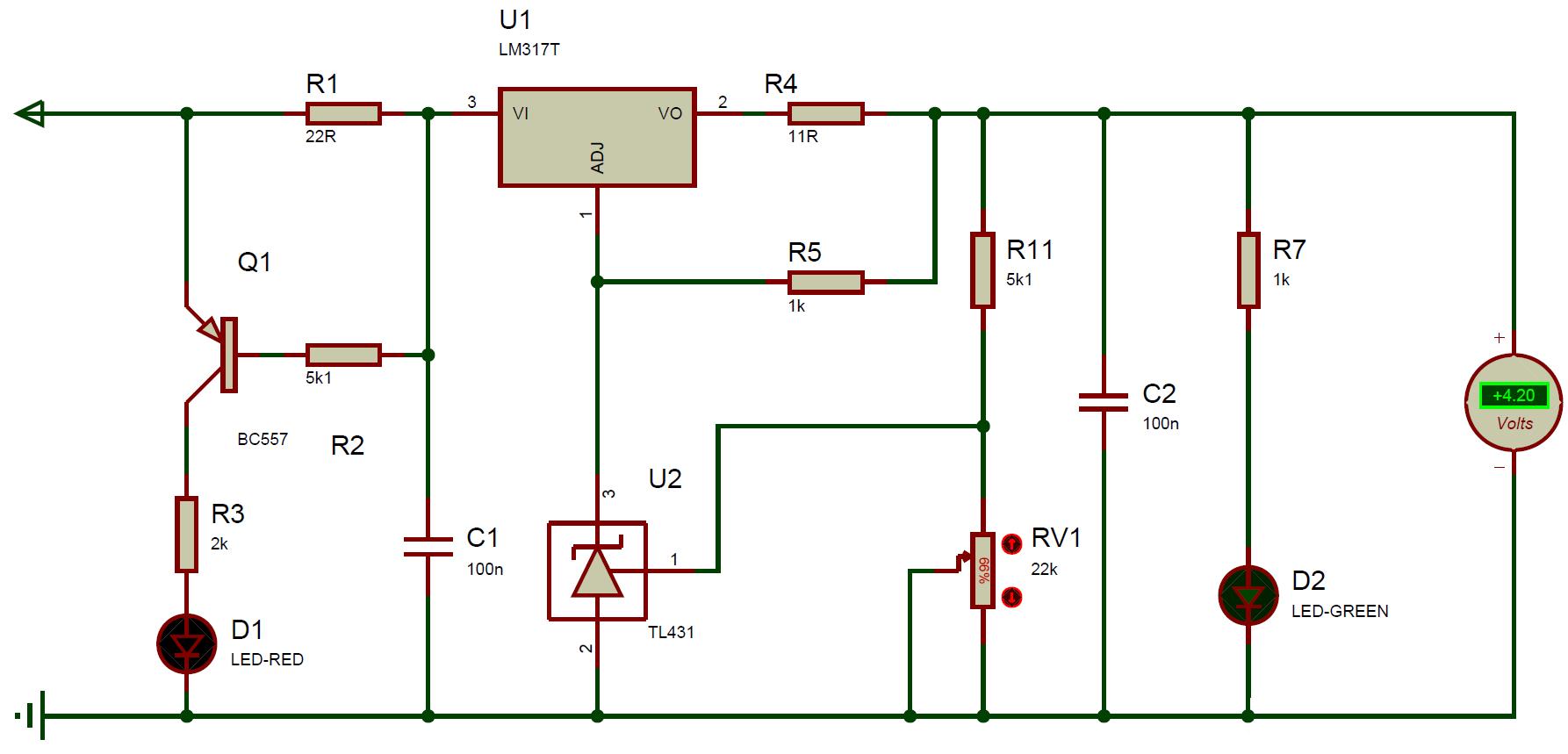 Схема зарядного устройства на lm317 фото 411