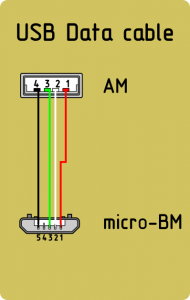 Распиновка micro usb разъема