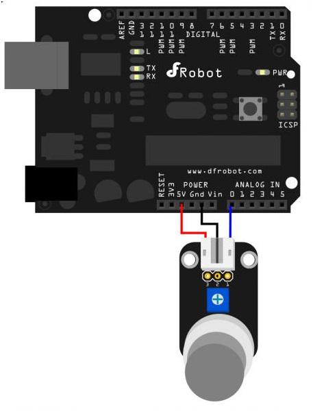 MQ7 Gas sensor only - EVA Electronics Co Arduino