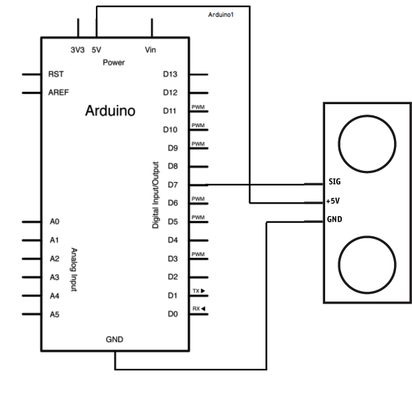 Arduino Based Distance Measure Box: 5 Steps