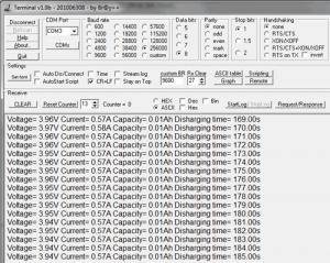 Устройство для замера емкости Li-ion аккумуляторов