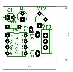 c4bd0das 960 - Реле поворотов на микроконтроллере
