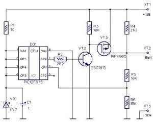 d4bd0das 960 300x245 - Реле поворотов на микроконтроллере