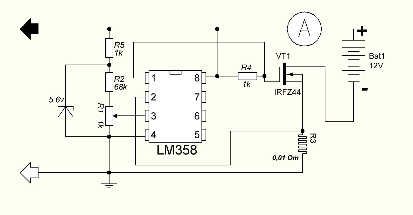 Схема зарядного устройства на транзисторах фото 800