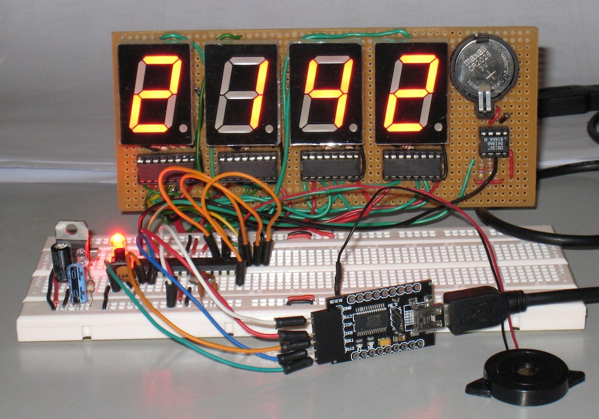 Arduino Alarm Clock Using a Real Time Clock and LCD
