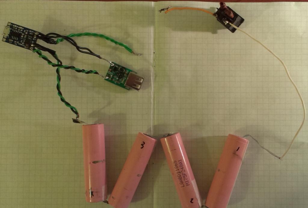47c6b5381965 - Простенький PowerBank своими руками